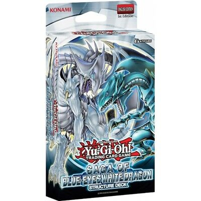 Yu-Gi-Oh! TCG Saga Of Blue Eyes White Dragon Structure Deck