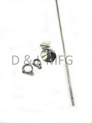 """Chrome Plated Ceiling Support Rod 36"""""""