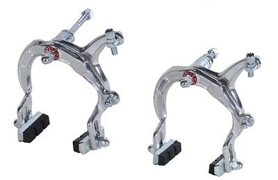 Bike-Cycle-Bicycle-Bmx Silver Brake Caliper Set