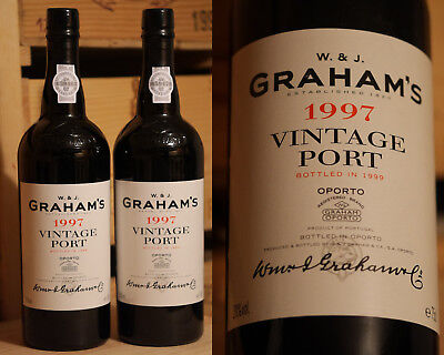 1997er Graham's Vintage Port - Top Jahrgang !!!!!!!