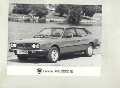 1984 Lancia HPE 2000IE ORIGINAL Factory Photograph wy4821