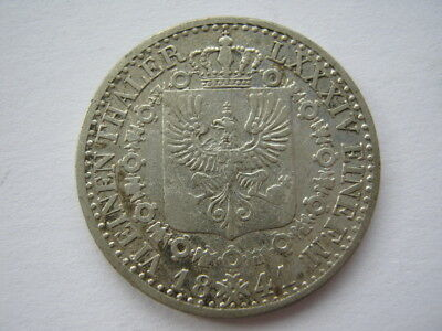 German States Prussia silver 1/6 Thaler 1841-A VF