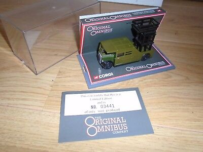 Limited Edition 1:76 Scale Omnibus AEC Tower Wagon for Hornby OO Gauge Train Set