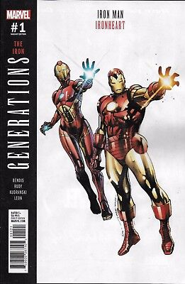 Marvel Iron Man Ironheart Generations comic issue 1 Limited variant