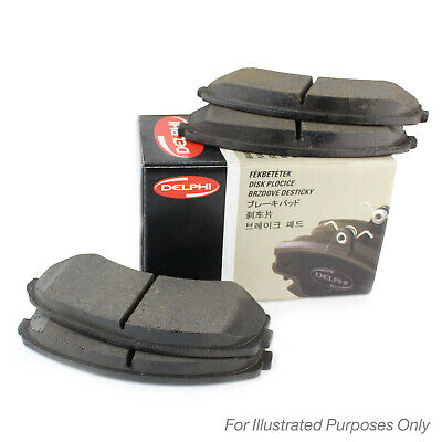 Genuine Delphi Front / Rear Disc Brake Pads Set - LP459