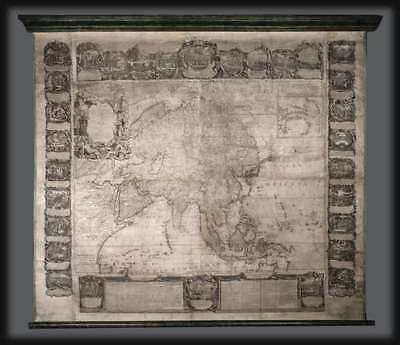 1749 Nolin Wall Map of Asia
