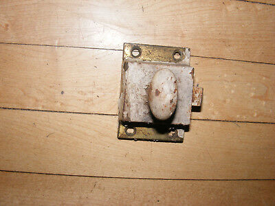 Vintage Miscellaneous `` Brass Door Latch ~~ Parts  Hardware