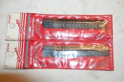 """Two Packs of Milwaukee 4"""" Jig Saw Blades 10 TPI 48-42-0540 (5 per pack)"""