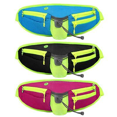 UN3F Unisex Waist Water Bottle Bag for Outdoor Sports Running Cycling Hiking