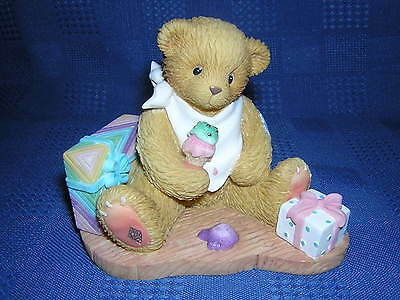 CHERISHED TEDDIES HURRAY IT'S YOUR BIRTHDAY Rare NEW and Never Displayed