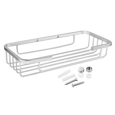 201 Stainless Steel Chrome Plated Bathroom Soap Dish Holder w Expansion Screws