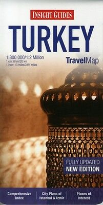 Insight Travel Maps: Turkey (Map), APA Publications Limited, 9781...
