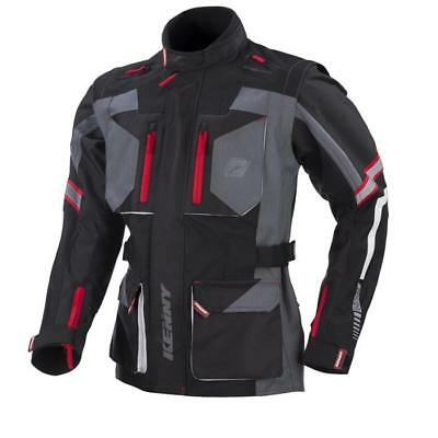 KENNY MX Enduro Jacke EVASION - schwarz-grau Motocross Enduro MX Cross