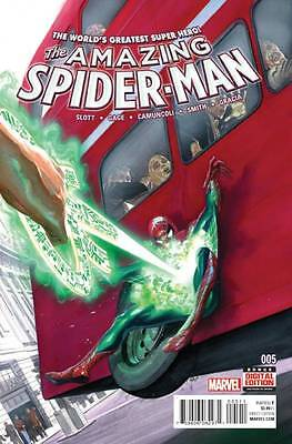 AMAZING SPIDER-MAN #5, New, First printing, Marvel Comics (2015)