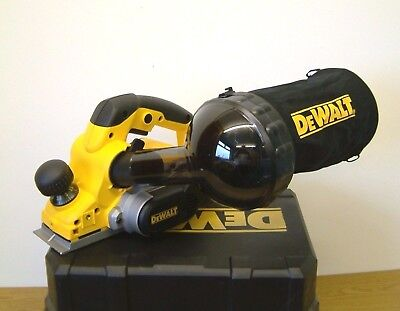 DeWALT D26500K 4mm Planer 240v in kit box