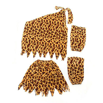 Christmas Children Costume Costume Indian Leopard Patter