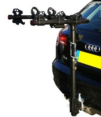 New Hollywood Traveller 3 Towball Car Bike Cycle Rack Carrier 3 Bikes - Free P&p