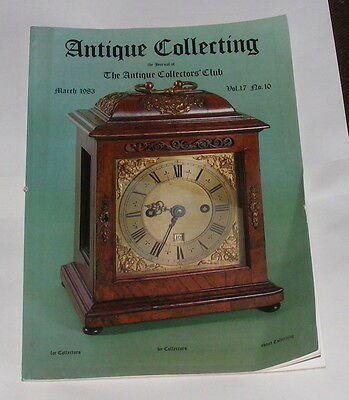 Antique Collecting March 1983 - What Is A Bracket Clock?