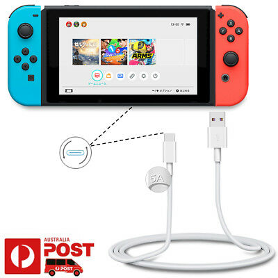 20AWG USB Type-C 3.1 Charger Charging Sync Data Cable Nintendo Switch Pro NS NX