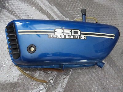 Yamaha Öltank RD250 352 torque induction oil tank Original gut Gebraucht