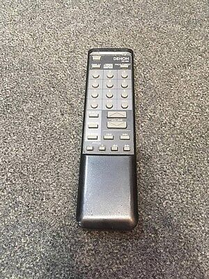Genuine Denon Rc-235 Cd Hifi Audio System Remote Control