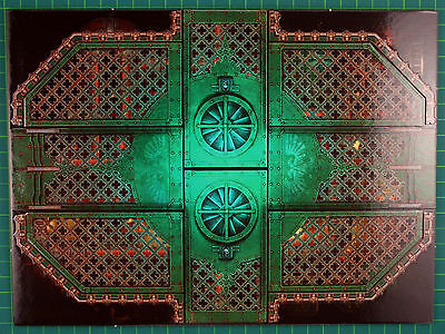 Double-Sided PLAYFIELD Segment F Deathwatch Overkill Warhammer 40k 3836