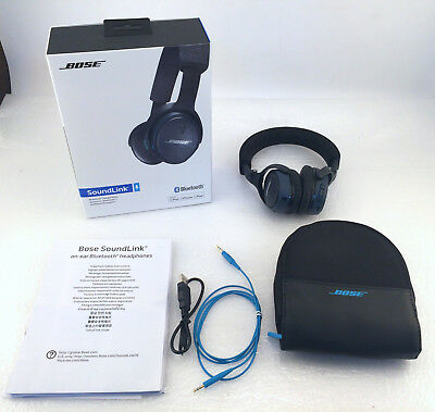 Bose SoundLink Bluetooth Wireless On-Ear Headphones - Black
