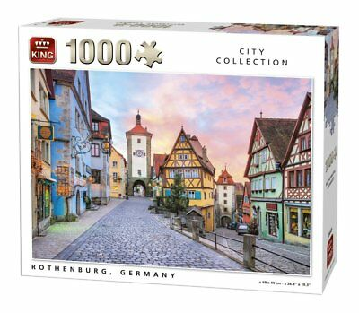 1000 Piece City Collection Jigsaw Puzzle - ROTHENBURG TOWN, GERMANY 05649