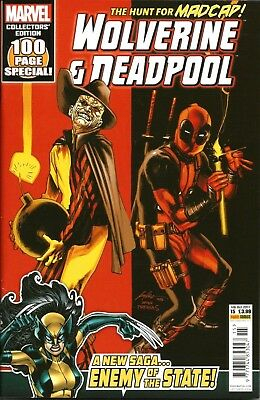 Wolverine And Deadpool Vol.4 # 15 / Marvel / Panini Comics Uk / Oct 2017 / N/m