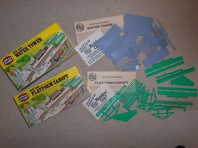 Pair of Unmade Airfix Scenic Sets for Hornby OO / HO Gauge Train Sets