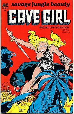 Cave Girl No. 1 1986 8.0 VF Bob Powell art