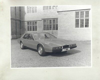 1978 Aston Martin Lagonda ORIGINAL Factory Photograph wy4887