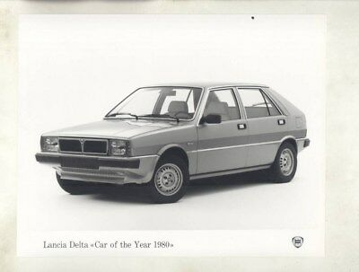 1980 Lancia Delta Car of the Year ORIGINAL Factory Photograph wy4910