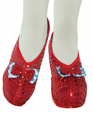 Farm Girl Womens Adult Dorothy Wizard Of Oz Red Shoe Covers