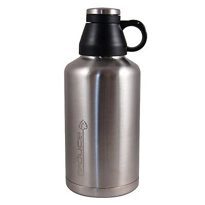 reduce COLD-1 Stainless Steel Insulated Growler, 64oz