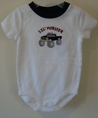 NWT Gymboree Monster Truck Lil' Monster Shirt Boy's Sz  3-6 Month