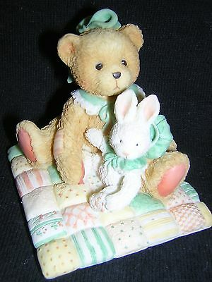 CHERISHED TEDDIES CAMILLE Rabbit Bunny Quilt NEW and Never Displayed