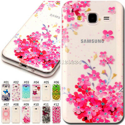 Silicone Soft Case Shockproof Back TPU Cover Skin For Samsung Galaxy J3/J3(2016)