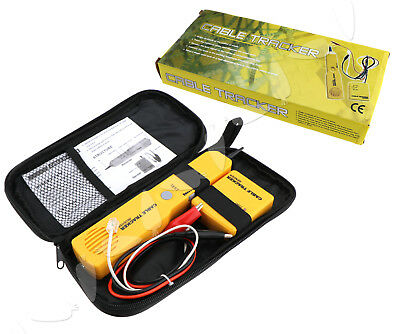 Telephone Tracer Network RJ11 LAN Cable Tester Tracker Electric Wire Finder