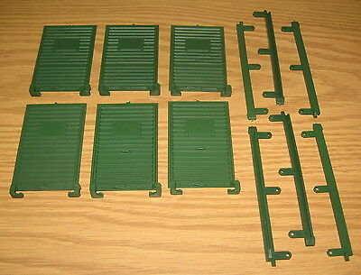 Lionel Large G Scale Train Parts: Boxcar Freight Car Doors Guides New Old Stock