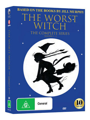 The Worst Witch - Complete Original Series DVD Season 1+2+3