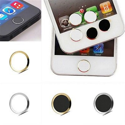 Trendy Aluminium Home button Stickers For Apple iPhone6 6S 6S Plus Ipod Ipad 4