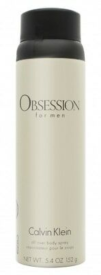 Calvin Klein Obsession Body Spray - Men's For Him. New. Free Shipping
