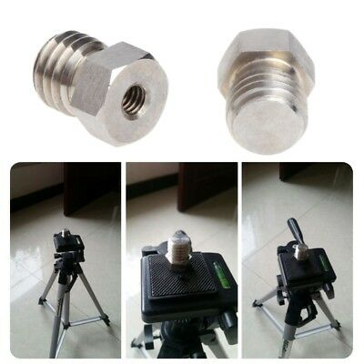 1/4 to 5/8 Inch Threaded Female to Male Bracket Tripod Adapter for Laser Level