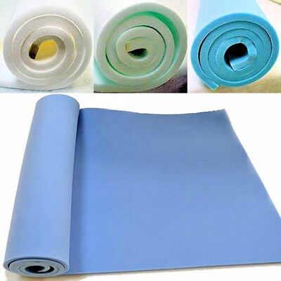"UPHOLSTERY FOAM SHEET HIGH / MEDIUM DENSITY. 60"" x 20"" ANY THICKNESS SIZE"