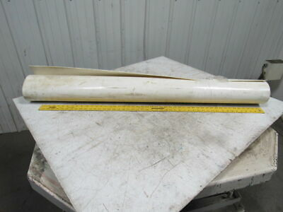 "3R10-0W 3-Ply White Food Grade Smooth Top Conveyor Belt 52"" X 62"" X 0.130"""