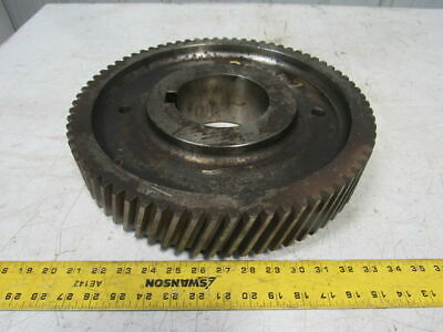 "14034 Right Hand Helical Gear  4.750"" Bore 14.750"" OD 72 Teeth"