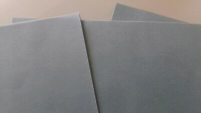 20 x Slate Green Vellum Coloured Translucent Tracing Paper A4