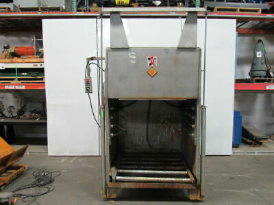 MTC WCA-SS Industrial Automatic Battery Wash Cabinet for Forklift Batteries