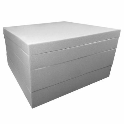 Upholstery foam cushions / seat pads. select any size / depth cut to size GREY